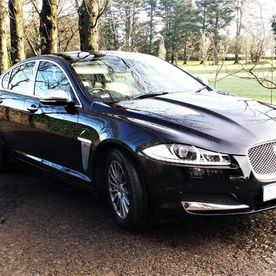 Jaguar XF in Panther Black