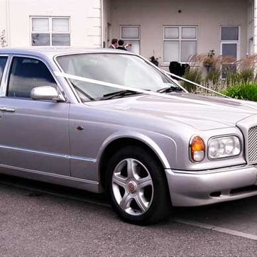 Bentley Arnage in Moonbeam