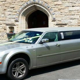 Chrysler 300C Stretch Limousine in Sterling Silver
